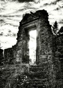 dveře světlo