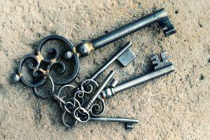 klíče fotobanka
