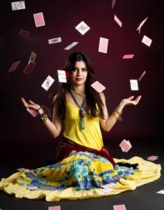 Cikánskéí vykládací karty