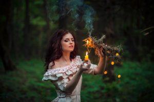 magie ohně