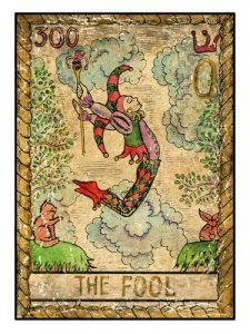 Tarotová karta Blázen